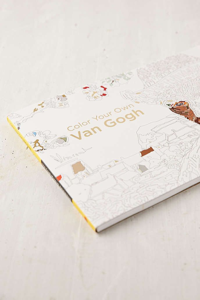 Color Your Own Van Gogh By Museum Amsterdam