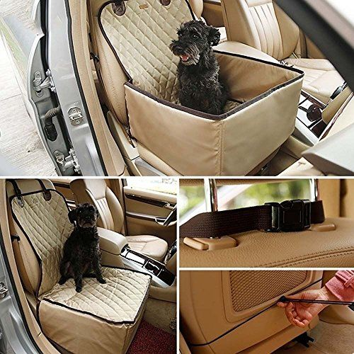 Lovely Summer Travel Pet Car Blanket Waterproof Dog Seat Covers Hammock Protector Mat For Cars Cover