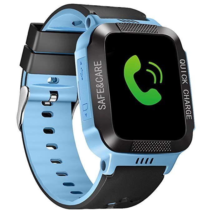 Kids Smart Watches GPS Tracker Phone Call for Boys Girls SIM