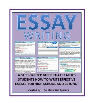 how to write an essay in high school