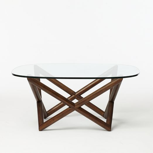 Spindle Coffee Table- In Between Chairs and Settee in Common Area