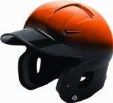 Nike Show 2 Tone Batting Helmet (Orange/Black, Osfm) - http://www.learnhitting.com/baseball-equipment-deals/nike-show-2-tone-batting-helmet-orangeblack-osfm/