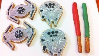 Super Star Wars Kekse selber machen *** how to make star wars cookies