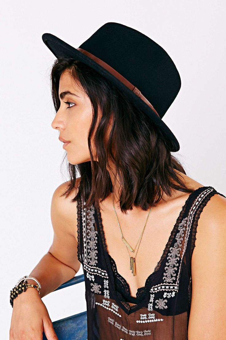 Brixton Messer Panama Hat - Urban Outfitters