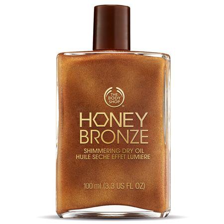Honey Bronze Shimmering Dry Oil - Honey Kissed