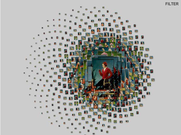 Vogel Spiral Navigation - Brendan Dawes