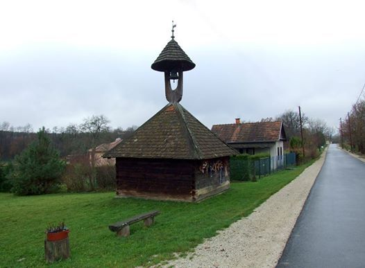 The Reformed belfry - Kercaszomor, Őrség, Hungary