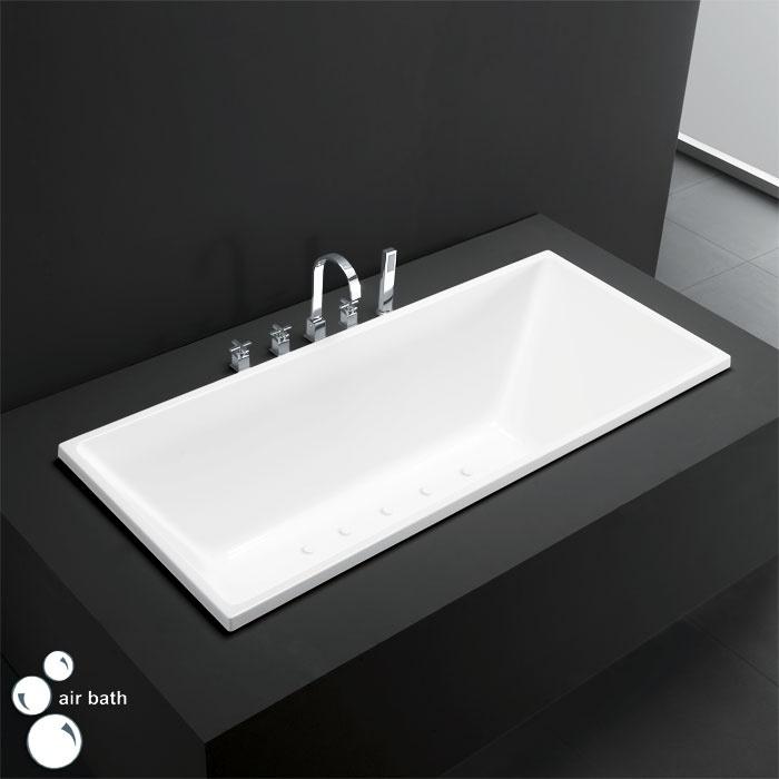 67 Emery Acrylic Drop In Air Bath Tub