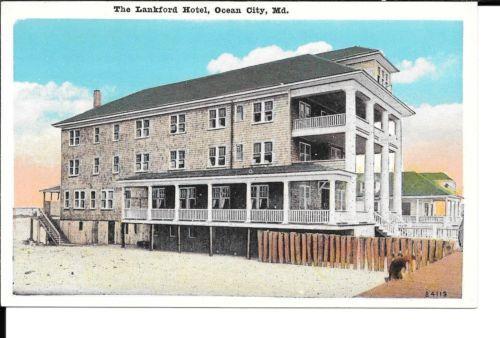 ocean city md postcards ocean city maryland the lankford hotel rh pinterest com