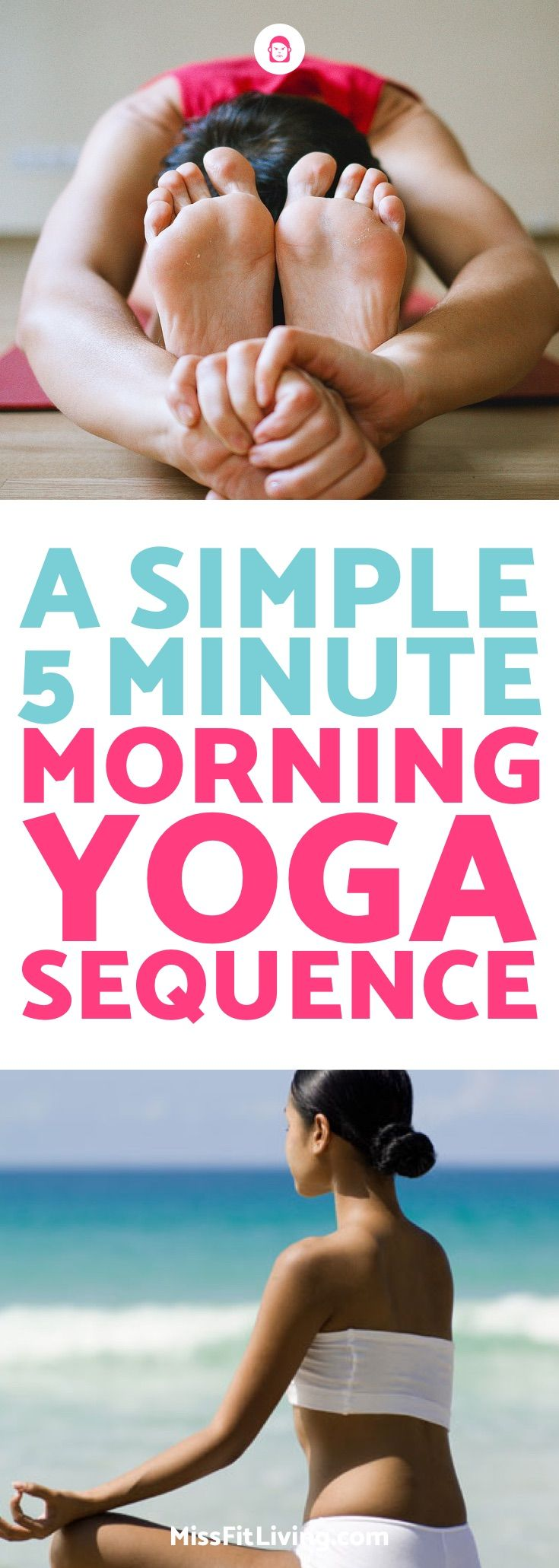 I love this morning yoga workout because it's quick and it gets me ready for...