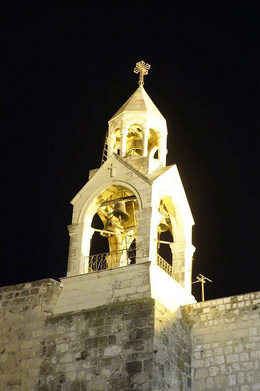 Колокольня Храма Рождества Христова... Святая земля, Вифлеем, Палестина