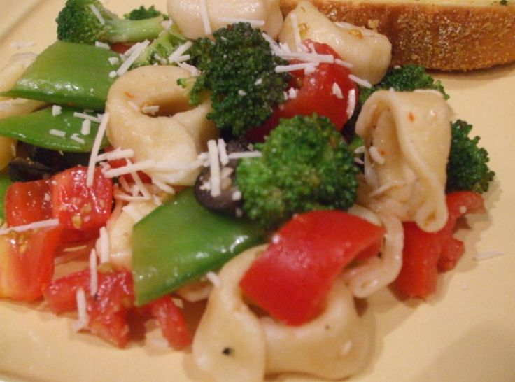Cheese Tortellini Salad At Its Best