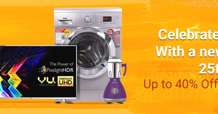 CELEBRATE GANESH CHATURTHI FESTIVAL with new TVs and Appliances Sale- 25th to 31th Aug 2017  GANESH CHATURTHI FESTIVAL  CELEBRATE GANESH CHATURTHI FESTIVAL with a new TV and Appliances (Small Large and Smart) Sale 25th to 31th Aug  Checkout to Enjoy Festi