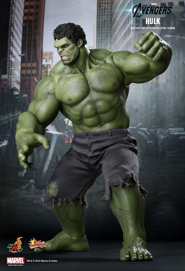 Hot Toys : The Avengers - Hulk 1/6th scale Limited Edition Collectible Figurine