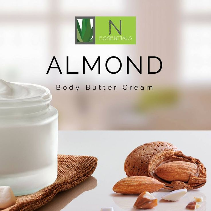 Want to pamper yourself with the wonderful smell of almonds? This Almond Body Butter Cream sinks into the skin shockingly fast, and leaves your skin hydrated and happy.