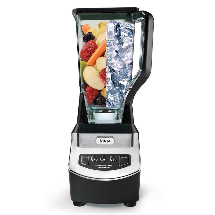 Ninja Professional Blender, Black - NJ600, Food Mixers & Blenders