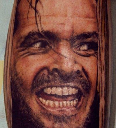 Horror Tattoos - Tattoos.netHorror Tattoo, Tattoo Artists Org, Cartoons Tattoo, Tatoo Art, Movie Tattoo, Art Dan, Portraits Tattoo, Dan Henkes, Rad Tattoo