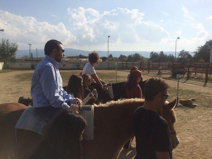 Θεραπευτική ιππασία: Χορεύοντας με τα άλογα