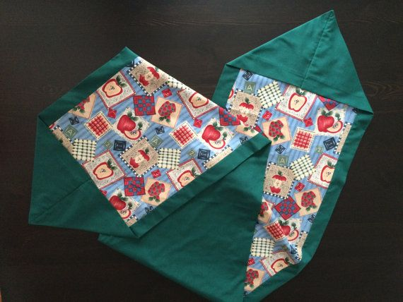 Reversible Table Runner. by CozeeQuilts on Etsy