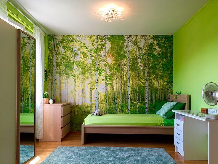 Persoonallinen makuuhuone Espoon Haperokujalla