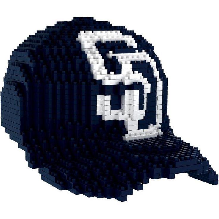 San Diego Padres MLB 3D BRXLZ Construction Puzzle Set Baseball Cap