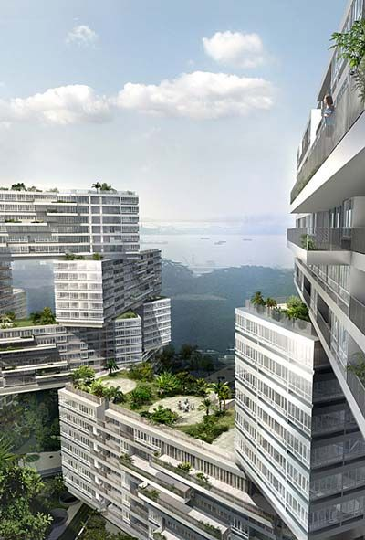 The Interlace -  Waterfront View