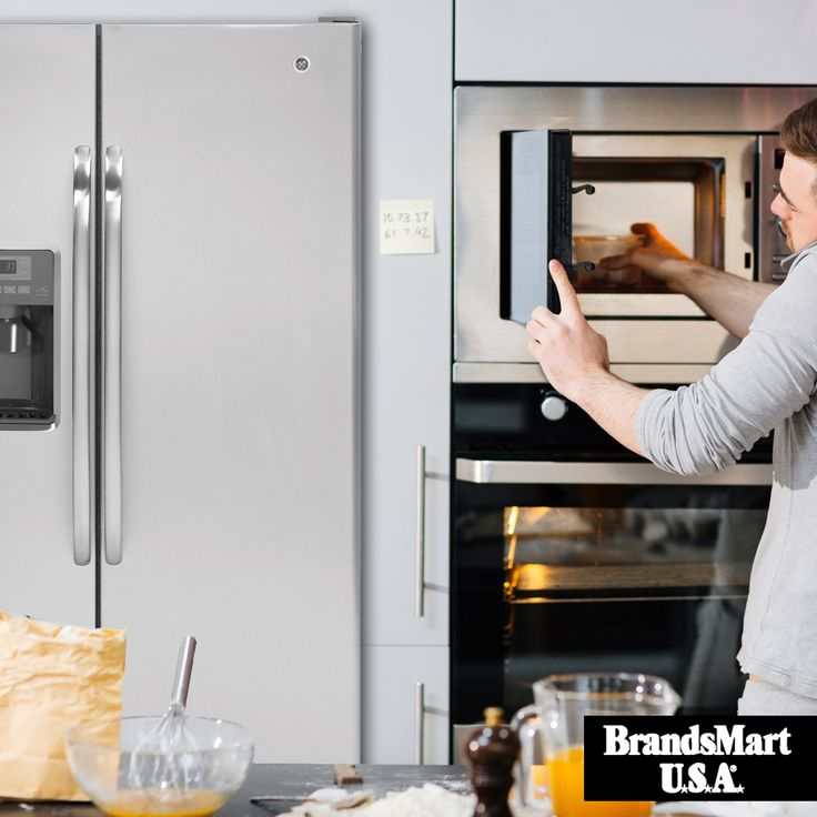 Get a Premium Refrigerator on Sale  GE 25.4 CuFt Stainless Steel Side-By-Side Refrigerator - Price Drop  Premium features at an affordable price: Spillproof Glass Shelves - In-Door-Ice Maker - LED Interior Lighting • GE • Deals • Kitchen • Appliances • Refrigerator • Sale • Food • Storage • Ice • Professional