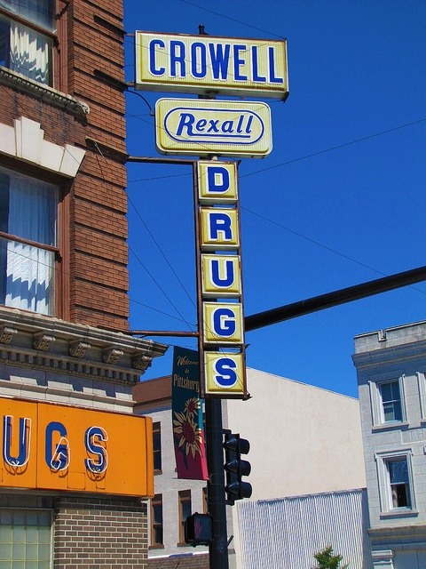Crowell Rexall Drugs -    		Pittsburg, Kansas