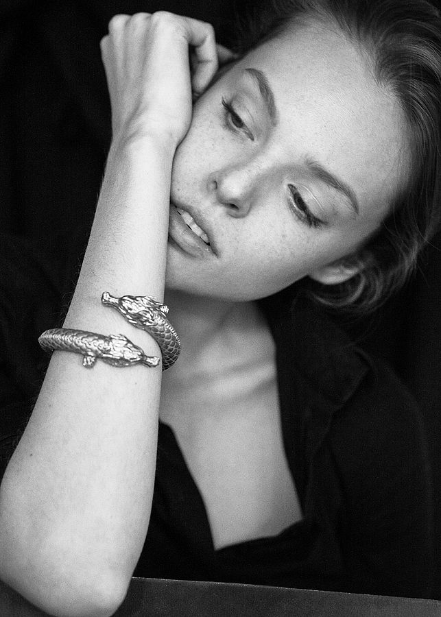 #model #luizamatyba #jewellery #annalubomirska #igordrozdowski