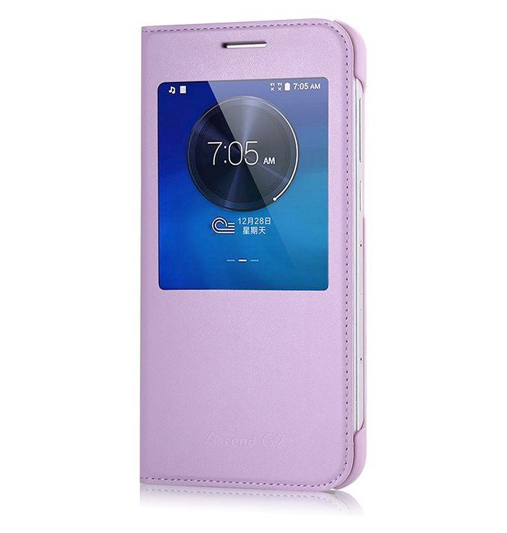 Funda para Huawei Ascend G7 Original ventana Flip