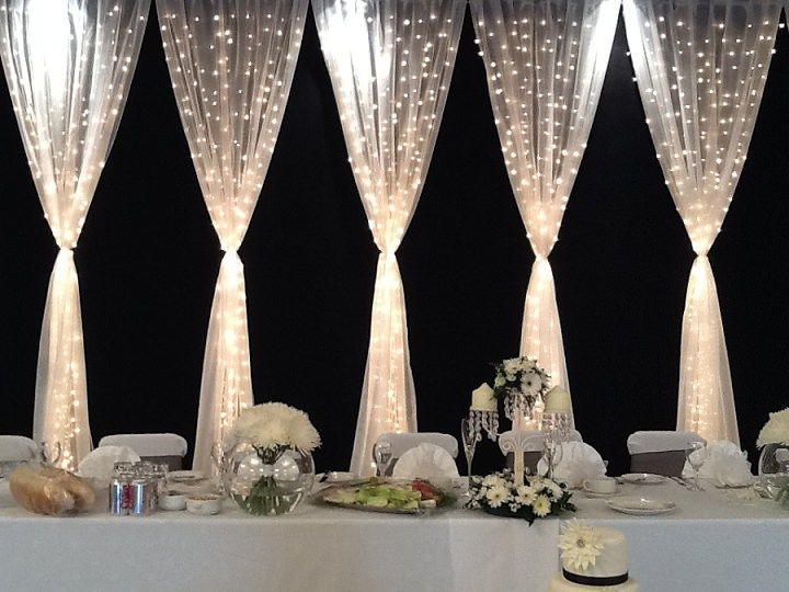 17 best ideas about Curtain Backdrop Wedding on Pinterest ...