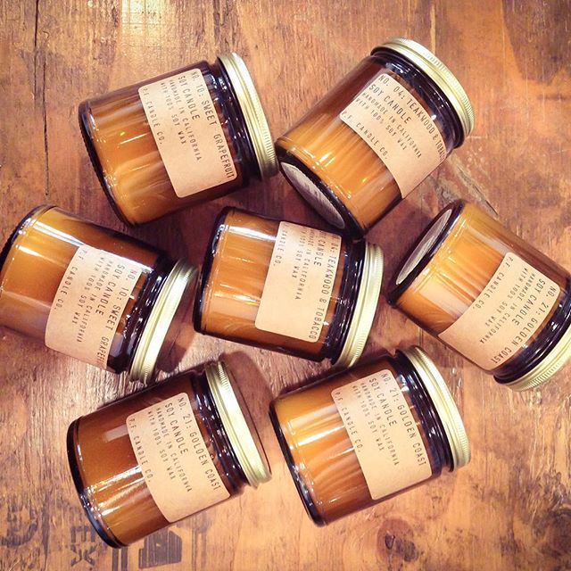 Back by popular demand and smelling ever so sweet with the likes of Teakwood and Tobacco, Amber Moss and Neroli and Eucalyptus from @pfcandl