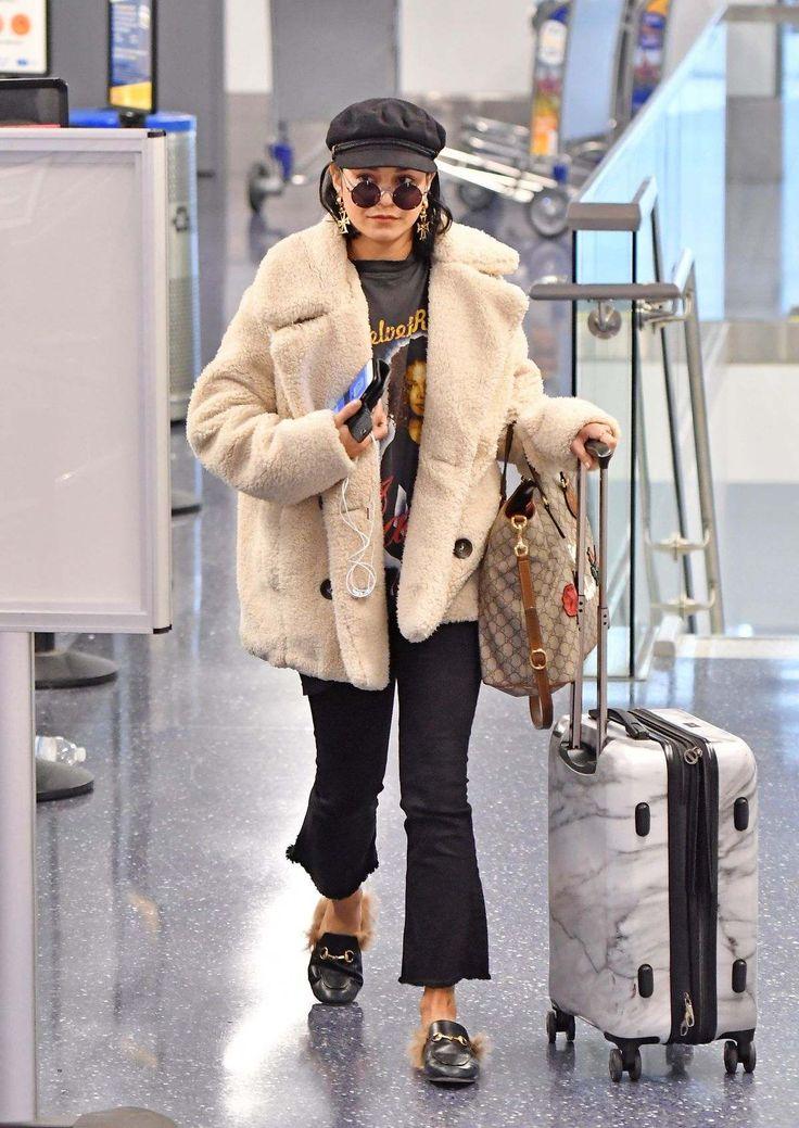 Vanessa Hudgens At Los Angeles International Airport