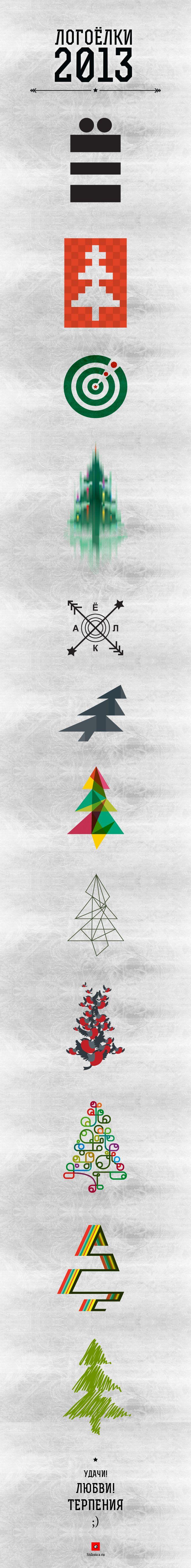 Project — LogoTree 2013 https://www.behance.net/gallery/6610757/LogoTree-2013