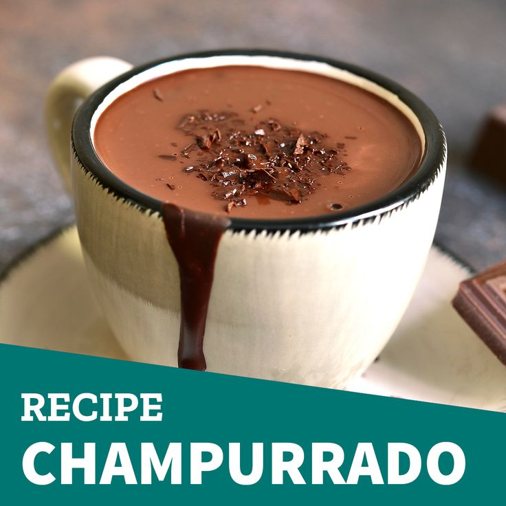 Taste this mexican sweet beverage!