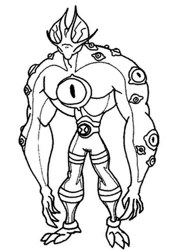 Ben 10 Benmummy Coloring Pages Coloring Pages Cartoon Coloring Pages Halloween Coloring Pages Coloring Books