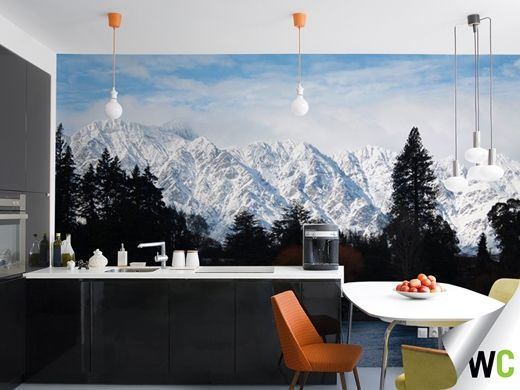 Snow Capped Mountains Of Canada   This Image Was Taken By Ainsley, A Keen  Snowboarder. Mountain DecorSki SeasonCustom Wall MuralsMural ... Part 74