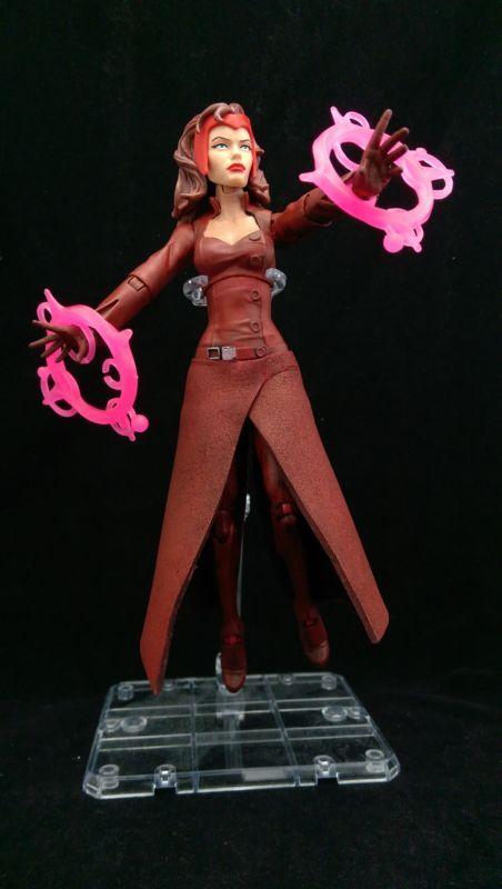 Scarlet Witch Uncanny Avengers V2 (Marvel Legends) Custom Action Figure