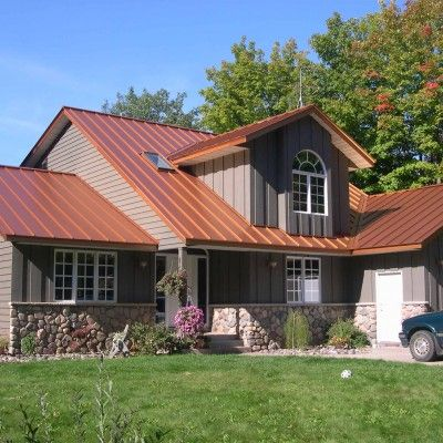 Best 25 copper roof ideas on pinterest aqua door roof for What color roof should i get for my house