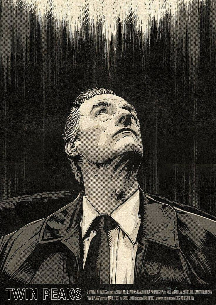 Twin Peaks episode 3x14 - Andy in the white lodge, by Cristiano Siquiera
