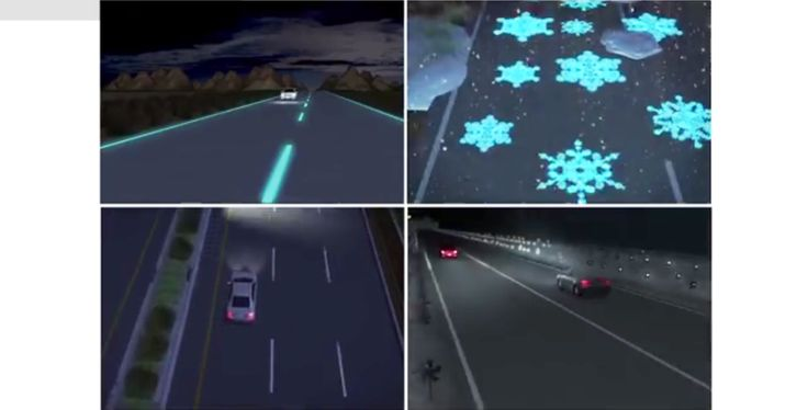Improving Road Safety and Saving Energy through Futuristic Highways