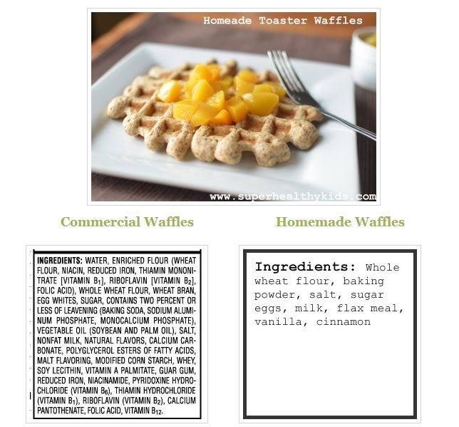 Make your own toaster waffles!  Quick and easy when you have them in the freezer, ready to go! #kidsfood #healthybreakfast #freezerready