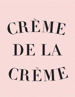 Crème de la Crème Inspirational Wall Prints, Motivational Art for Office Decor…