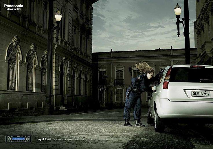 Panasonic Car Audio: Policewoman