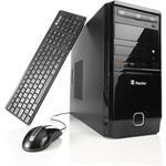 Desktop Itautec ST4255. Computador com duas versões de configuração. Mais básica, pra você que busca algo bom e barato. Ou alta performance, com Intel Core i5, 4GB e Windows 7 Home Premium Autêntico.