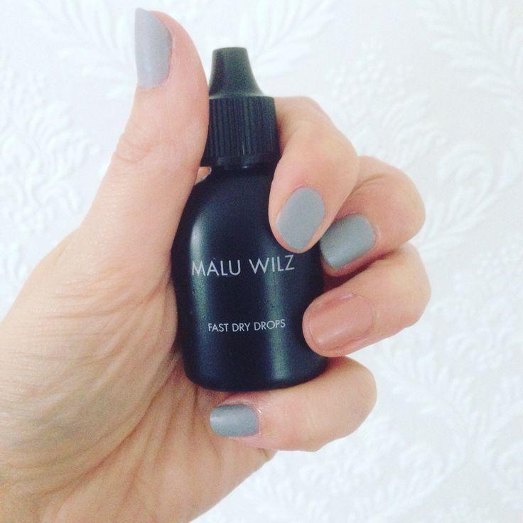 Je nagellak snel droog met de drops van Malu wilz