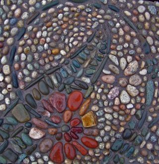 Pebble mosaic by alice.rogman