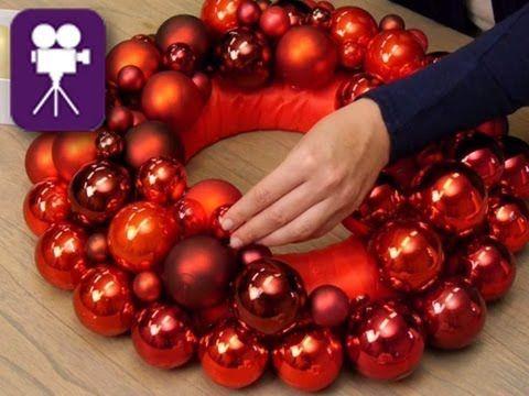Adventskranz basteln: Ideen zum Selbermachen - YouTube