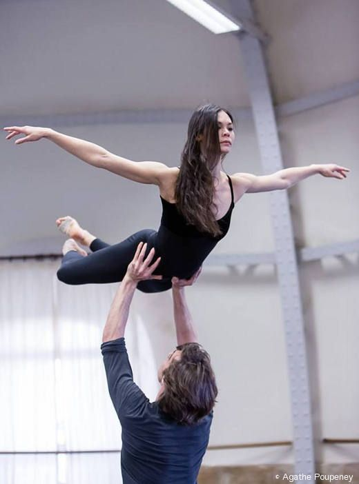 Alice Renavand & Hervé Moreau rehearsing Le Parc (Agathe Poupeney) ♥ Wonderful! www.thewonderfulworldofdance.com
