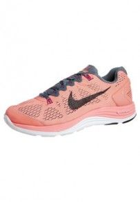 Nike Performance NIKE LUNARGLIDE 5 Obuwie do biegania Stabilność różowy